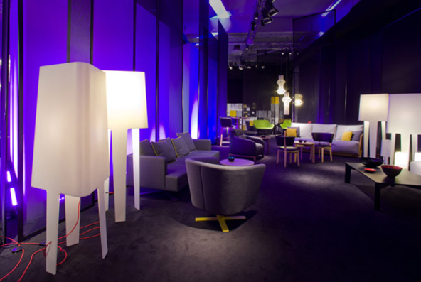 Comforty new collection premiere at Salone del Mobile 2012 in Milan