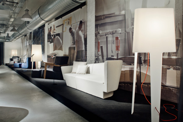 The Comforty Real Industry Exhibition during the inauguration of the Concordia Design Centre in Poznań