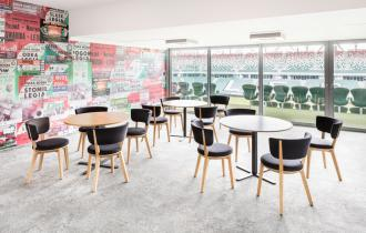 VIP lounge Legia Warsaw football club stadium